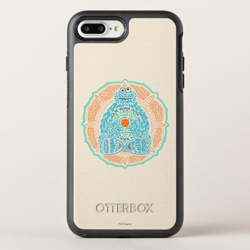 Bohemian Cookie Monster OtterBox Symmetry iPhone 8 Plus/7 Plus Case