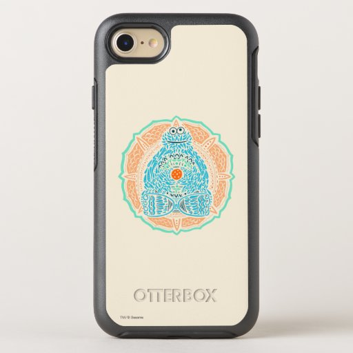 Bohemian Cookie Monster OtterBox Symmetry iPhone SE/8/7 Case