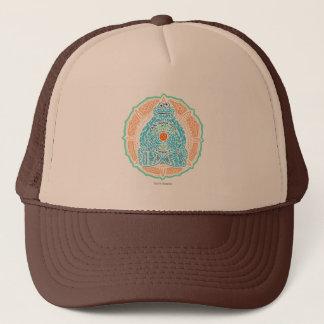 Bohemian Cookie Monster Trucker Hat