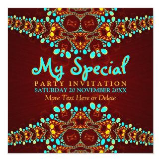 Bohemian Diva Special Event Party Invitation