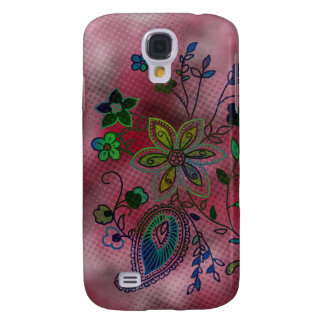Bohemian Floral iPhone 3G Case (magenta)