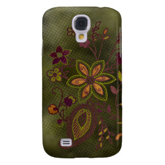 Bohemian Floral iPhone 3G Case (olive)