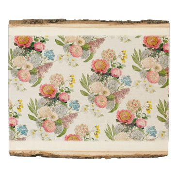 Art Themed Bohemian Floral Romantic pattern Wood Panel