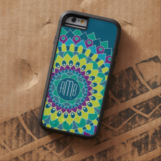Bohemian Flower with Monograms iPhone 6 Case