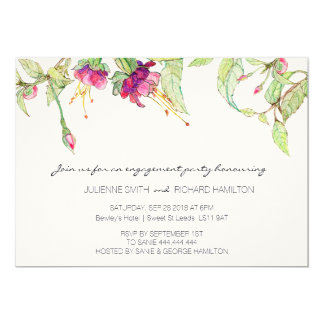 Bohemian Garden | Engagement Party Invitation