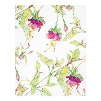 Bohemian Garden   Floral DIY Envelopes Liner Flyer