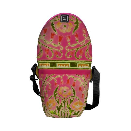 Bohemian Garden Rickshaw Messenger Bag
