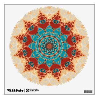 Bohemian Geometry Mandala Wall Decal