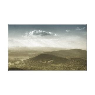 Bohemian Haze Canvas Print