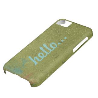 Bohemian Hello Green Aqua iPhone 5  Case