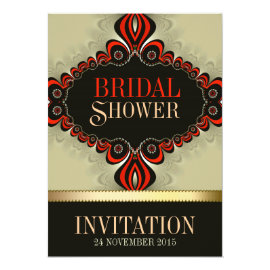 Bohemian Magic Bridal Shower Invitations
