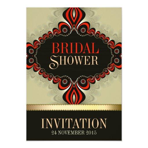 Bohemian Magic Bridal Shower Invitations