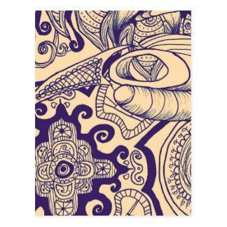 Bohemian Mandala Postcard