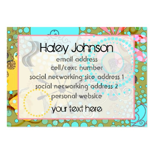 Bohemian One Social/Business Cards
