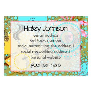 Bohemian One Social/Business Cards Large Business Card