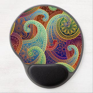 Bohemian Paisley Timeless Pattern Gel Mouse Pad