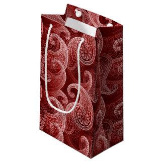 Bohemian Paisley Timeless Pattern Small Gift Bag