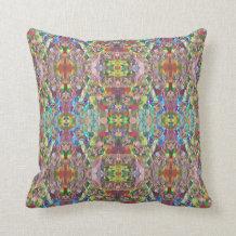 Bohemian Pattern Throw Pillow