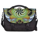 Bohemian Pinwheel Laptop Messenger Bag