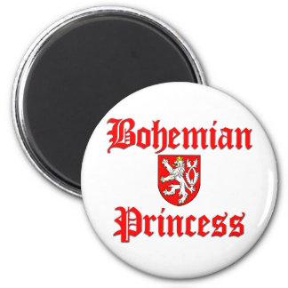 Bohemian Princess 2 Inch Round Magnet