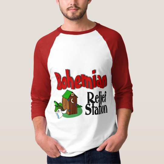 Bohemian Relief Station T-Shirt