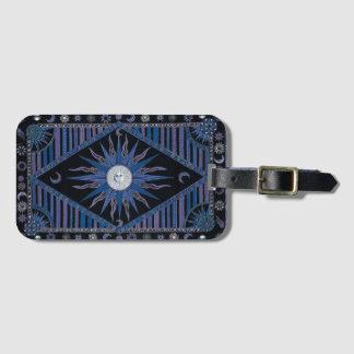 Bohemian Royal Blue Sun Bag Tag