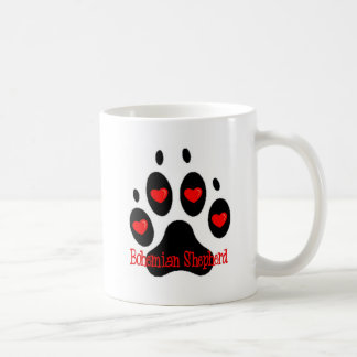 Bohemian Shepherd Classic White Coffee Mug