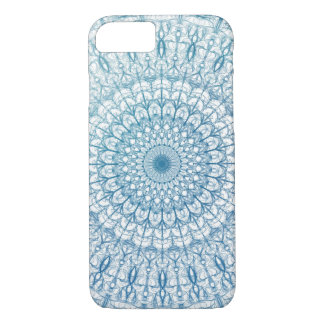 Bohemian Sky and Turquoise Blue Fractal Design iPhone 7 Case