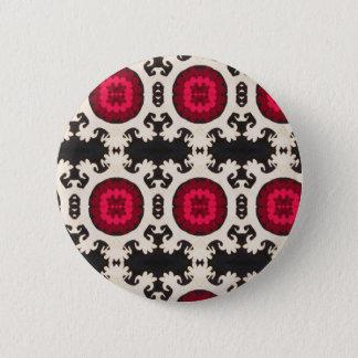Bohemian Southwest Tribal Aztec pattern Button