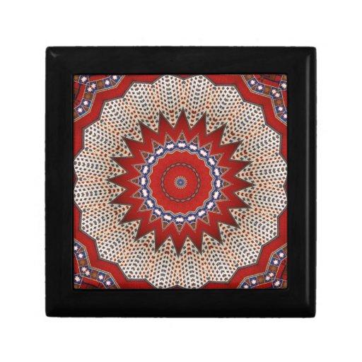 Bohemian Southwest Tribal Aztec pattern Gift Box