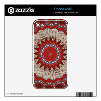 Bohemian Southwest Tribal  pattern iPhone 4S Skins