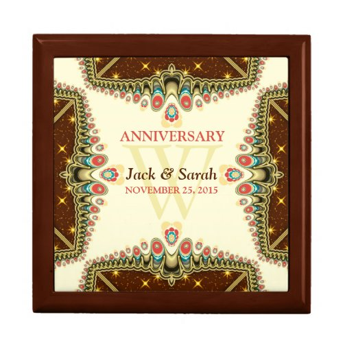 Bohemian Sparkle Anniversary Special Gift Box