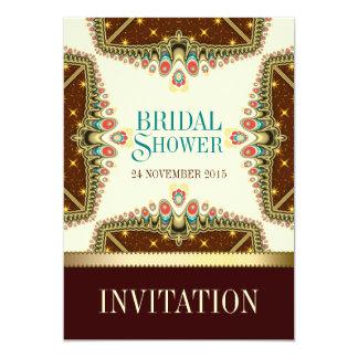 "Bohemian Stars Bridal Shower Invitation 5"" X 7"" Invitation Card"