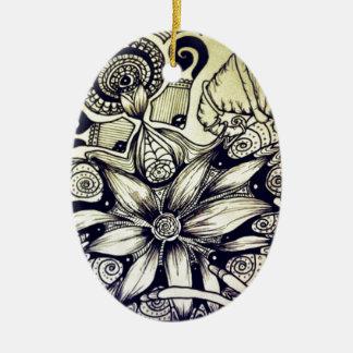 Bohemian Style Ceramic Ornament