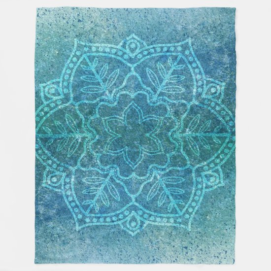 Bohemian Style Design Fleece Blanket
