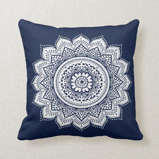 Bohemian Style Throw Pillow Zazzle