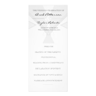 Bohemian Tribal Grey | Wedding Rackcard Rack Card
