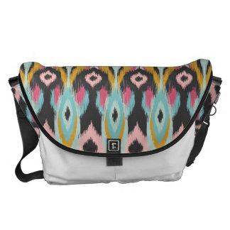 Bohemian Tribal Ikat Courier Bags
