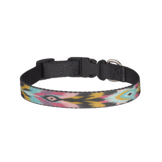 Bohemian Tribal Ikat Pet Collar