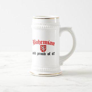 Bohemio orgulloso taza