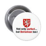 Bohemio perfecto pin redondo 5 cm