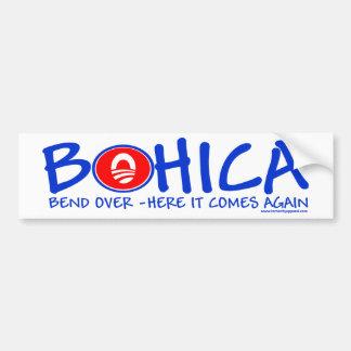 BOHICA CAR BUMPER STICKER