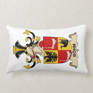 Böhm Family Crests Lumbar Pillow