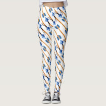 boho arrows boho pattern all over printed leggings