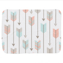 Boho Arrows Pattern Receiving Blanket