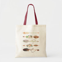 Boho Arrows Tote Bag