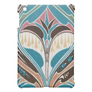 boho art nouveau chic abstract design iPad mini covers