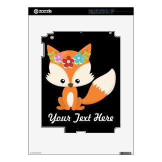 Boho Autumn Fox Decal For The iPad 2
