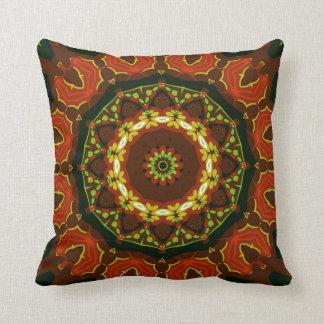 Boho Batik Geometric Mandala Cushion / Pillow