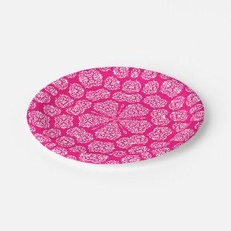 Boho Bazaar, Mix & Match Rose Pattern Paper Plate
